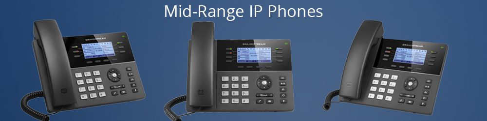 Mid-Range IP Phones