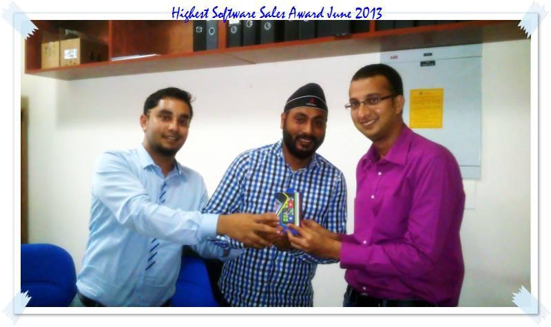 Highest Microsoft Sales Award 2013
