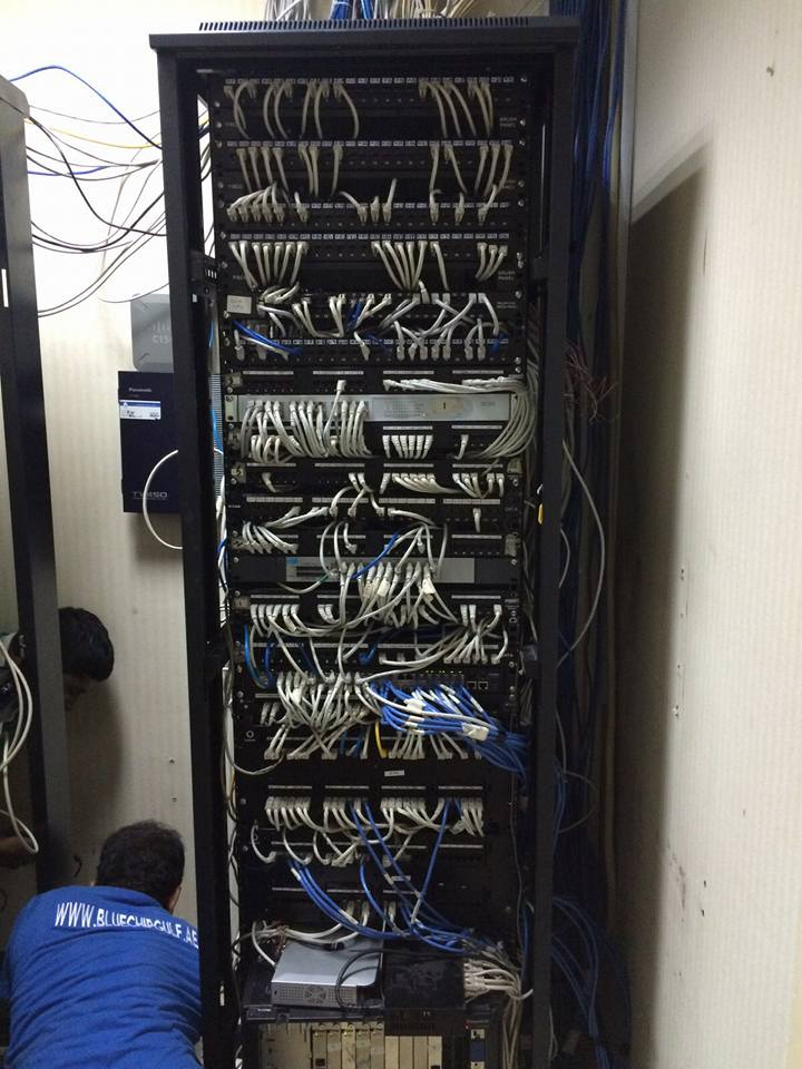 Server Room Management & CCTV Installation