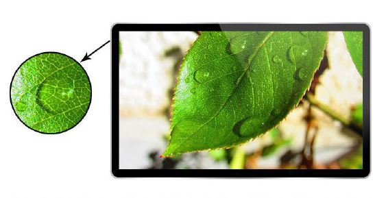 HD IPS LCD Screen