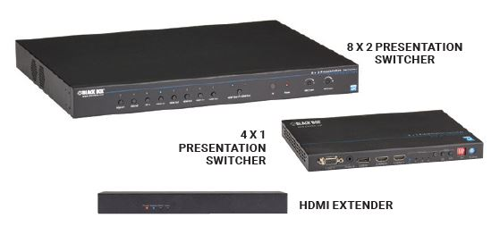 Presentation Switchers and Extenders