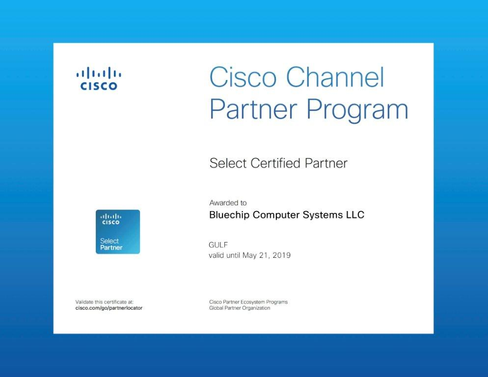 Bluechip Gains Cisco Select Certified Partner Status