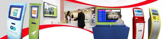 EaZy-Q TV Based Digital Signage Solution in Dubai, UAE