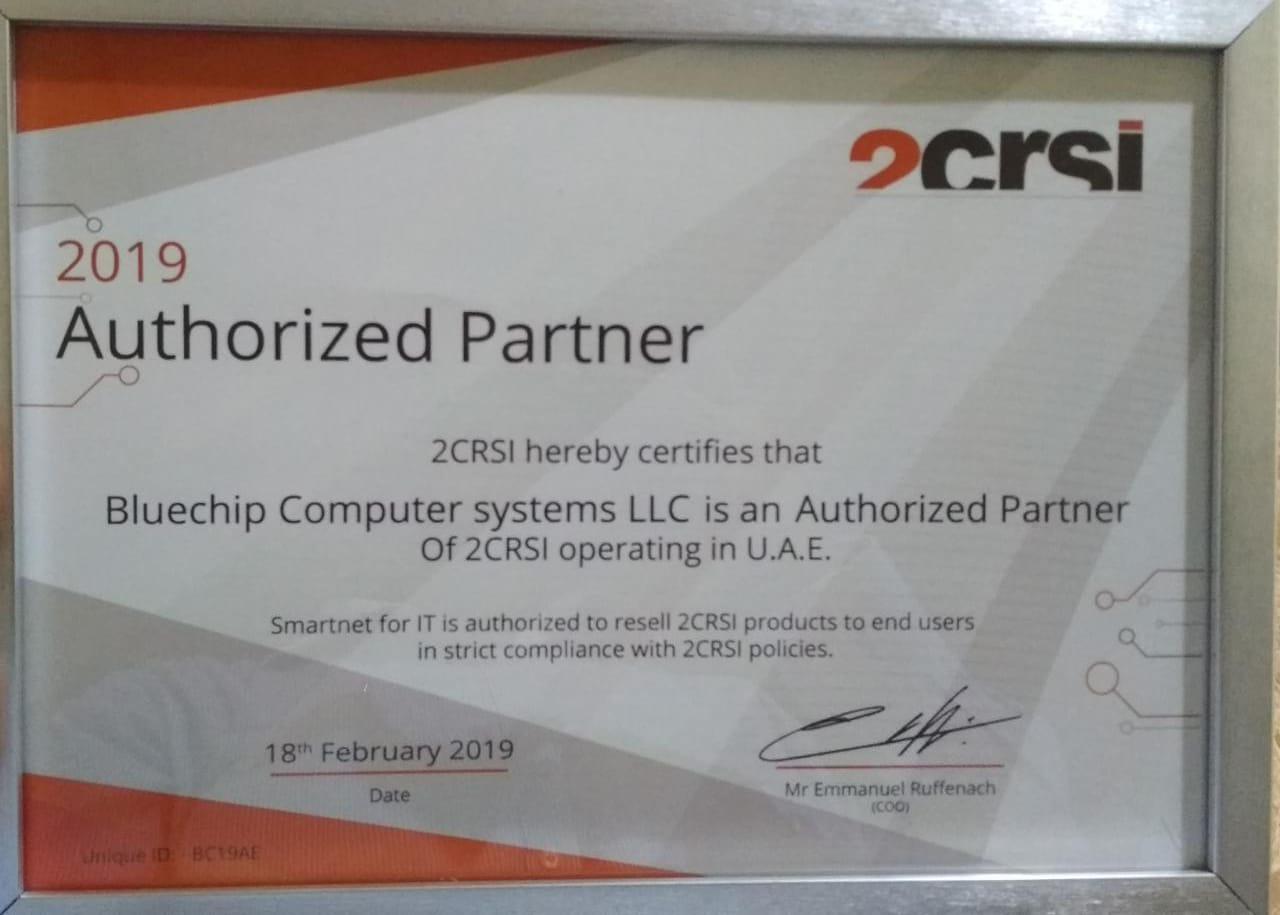 2CRSI Authorized Partner in Dubai, UAE